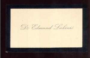Dr. Edmund Lukinić