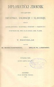 Sv. 13: Listine godina : 1360-1366 : Diplomatički zbornik Kraljevine Hrvatske, Dalmacije i Slavonije