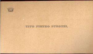 Tito Pietro Strozzi.