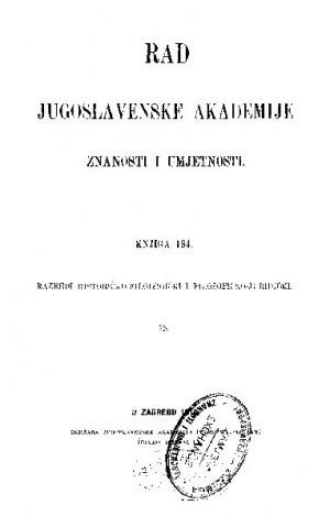 Knj. 75(1910) : RAD
