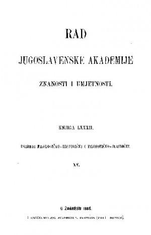 Knj. 15(1886) : RAD