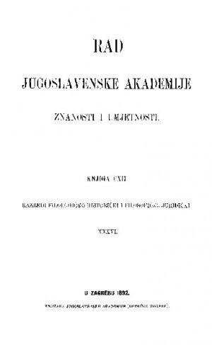 Knj. 36(1892) : RAD