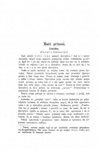 Ženidba : (Cavtat u Dalmaciji) / P. Bogdan-Bijelić