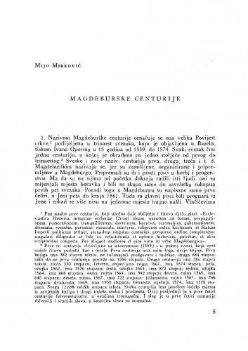 Magdeburške centurije
