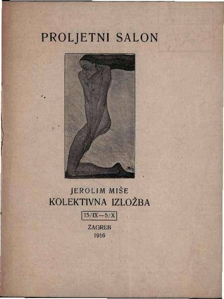 Proljetni salon - Jerolim Miše kolektivna izložba
