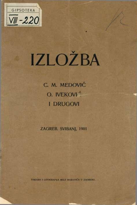 Izložba C. M. Medović, O. Iveković i drugovi