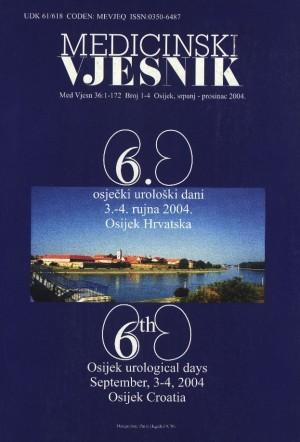 36, br. 1-4(2004) : Medicinski vjesnik