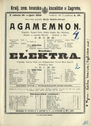 Agamemnon Tragedija