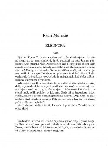 Eleonora : Forum : mjesečnik Razreda za književnost Hrvatske akademije znanosti i umjetnosti.