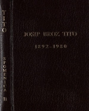 Josip Broz Tito : 1892-1980 : Spomenica preminulim akademicima