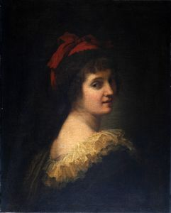 Portret kontese d'Albany