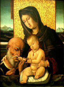 Bogorodica s Djetetom i donatorom
