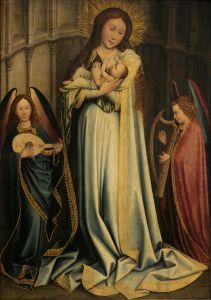 Bogorodica s Djetetom u apsidi