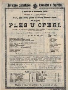 Ples u operi opereta u tri čina / od R. Heubergera