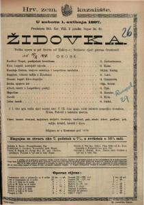 Židovka velika opera od pet činova / od Halévy-a