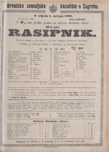 Rasipnik čarobna gluma s pjevanjem u tri čina / napisao Ferdinand Raimund