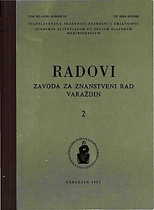 Radovi Zavoda za znanstveni rad Varaždin