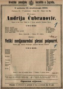 Andrija Čubranović uglazbio Vladimir Bersa