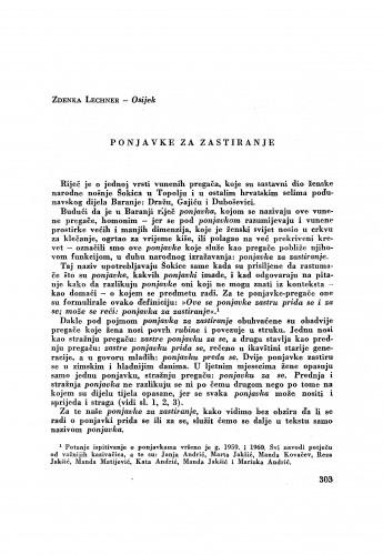 Ponjavke za zastiranje / Z. Lechner
