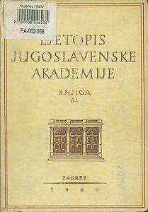 Za godinu 1957. Knj. 64 : Ljetopis
