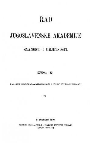 Knj. 74(1910) : RAD