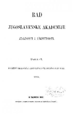 Knj. 35(1892) : RAD