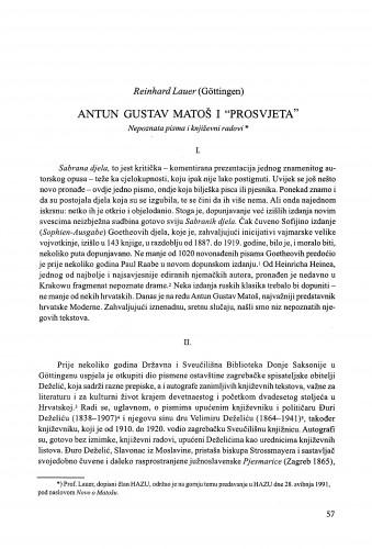 Antun Gustav Matoš i