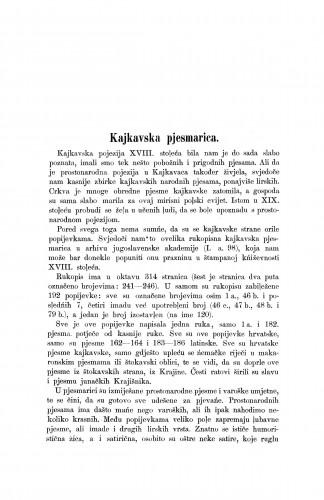 Kajkavska pjesmarica / Milivoj Šrepel