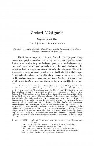 Grofovi Višnjegorski