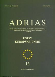 Sv. 13 (2006) : Adrias : zbornik Zavoda za znanstveni i umjetnički rad Hrvatske akademije znanosti i umjetnosti u Splitu