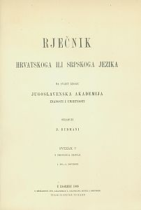Sv. 7 : 1. do-1. dovesti : Rječnik hrvatskoga ili srpskoga jezika