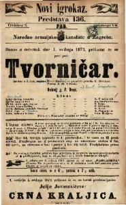 Tvorničar Igrokaz u 3 čina / Henri Hamelen, / za pozorište priredio E. Devrient