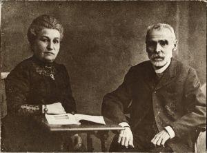 Matoševi roditelji, Marija i August Matoš