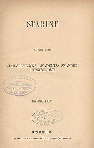 Knj. 24(1891) : Starine