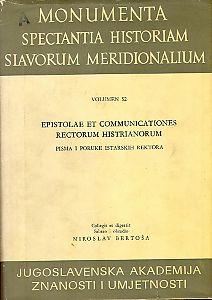 Sv. 1. : Od 1607. do 1616. = T. 1. Annorum 1607.-1616 : Monumenta spectantia historiam Slavorum meridionalium