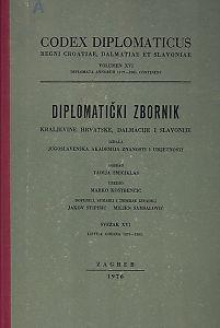 Sv. 16: Listine godina : 1379-1385 : Diplomatički zbornik Kraljevine Hrvatske, Dalmacije i Slavonije