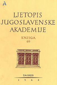 Za godinu 1962. Knj. 69 : Ljetopis