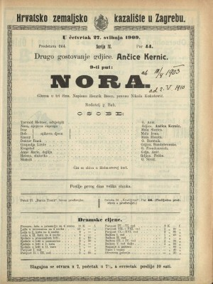 Nora Igrokaz u tri čina