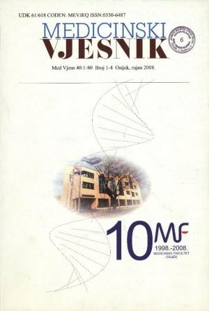 40, br. 1-4(2008) : Medicinski vjesnik