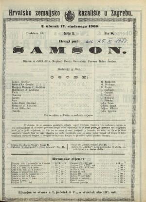 Samson Drama u četiri čina