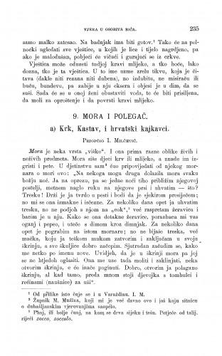 Krk, Kastav, i hrvatski kajkavci : mora u polegač : Zbornik za narodni život i običaje