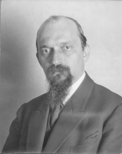 Ivan Meštrović, Chicago, 1925. [McQuilkin, V. R.]