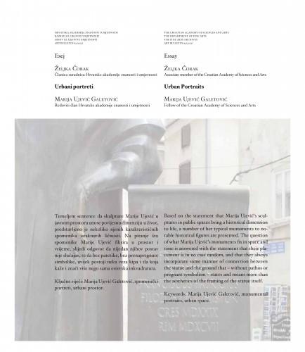 Urbani portreti: Marija Ujević Galetović : Art Bulletin
