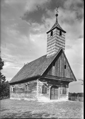 Kapela Presvetog Trojstva (Gladovec Pokupski) : izvana [Griesbach, Đuro  ]