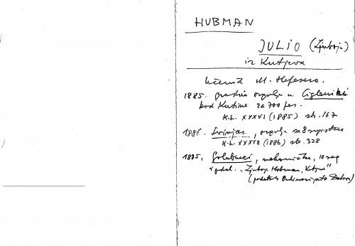 Hubman Julio (Ljuboje) iz Kutjeva