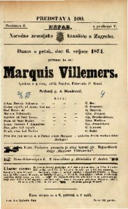 Marquis Villemers : Igrokaz u 4 čina / od G. Sand-a