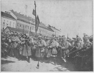 Razpoloženje hrvatskih vojnika prije polazka u boj.