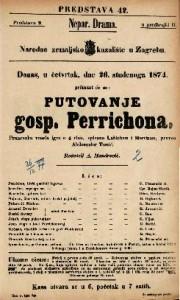Putovanje gosp. Perrichona Francezka vesela igra u 4 čina / spisana Labichem i Mortinom