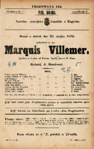 Marquis Villemer Igrokaz u 4 čina / od George Sandove