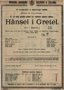 Hänsel i Gretel operna priča u tri slike / od Engelberta Humperedingka